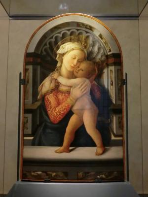 リッピの微オカマ聖母子像