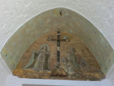 トゥルッリ・ソヴラーノの扉上