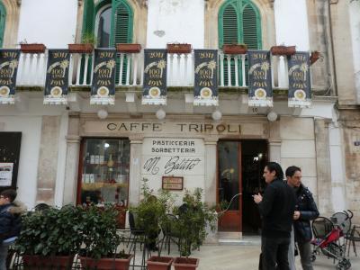 マルティーナ・フランカのカフェ