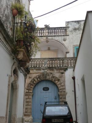 マルティーナ・フランカ古いお屋敷