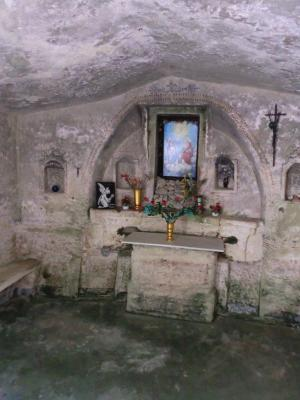 洞窟教会内部