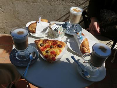Caffe Lanfranchiでのランチ