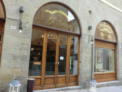 アレッツォの素敵なカフェ