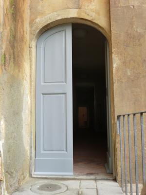 ヴァザーリの回廊出口