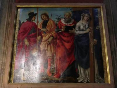 サン・ミケーレ・イン・フォロ教会 フィリッピーノ・リッピの四聖人