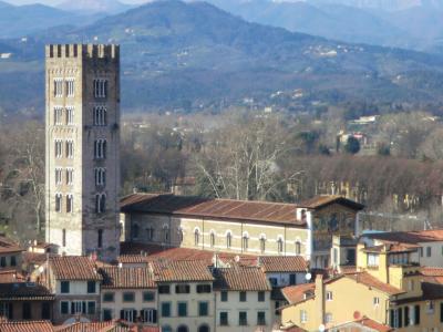 ルッカ グイニージの塔からの眺め