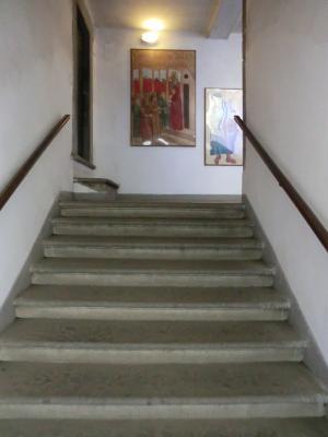 ルッカ グイニージの塔 階段