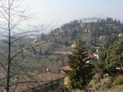 サン・ヴィリジオの丘からの眺め