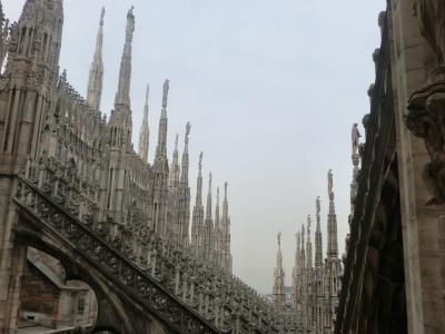ミラノ ドゥオーモ屋上