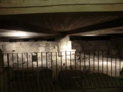 ミラノ サン・ロレンツォ・マッジョーレ教会 地下