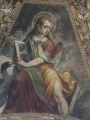 ミラノ サン・ロレンツォ・マッジョーレ教会 福音書記者ヨハネ