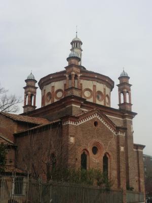 ミラノ サンテウストルジョ教会 ポルティナーリ礼拝堂