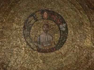サンタンブロージョ教会モザイク