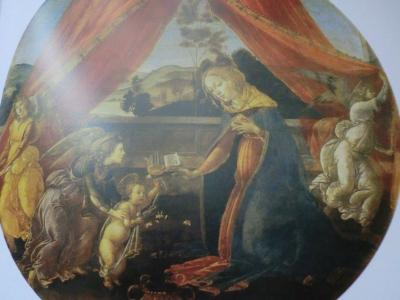 アンブロジアーナ絵画館 ボッティチェリ