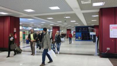ローマ フィウミチーノ空港 2013年