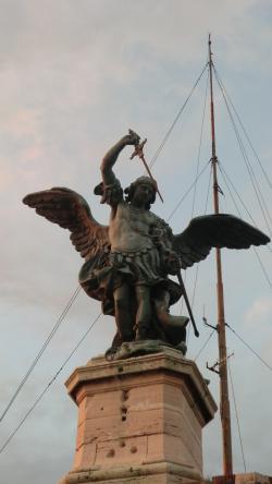 サンタンジェロ城 大天使ミカエル