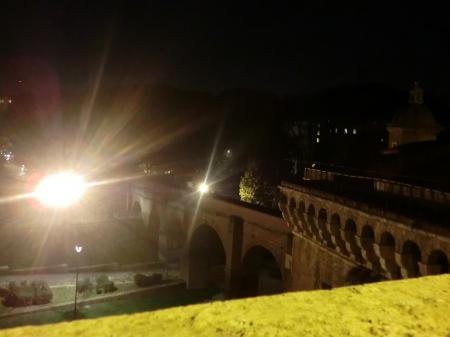 サンタンジェロ城 教皇の逃避路