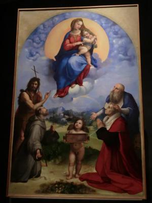 バチカン美術館 ピナコテカ ラファエロ