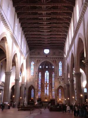 サンタ・クローチェ教会 フィレンツェ