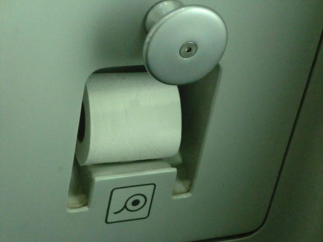 イタリアの電車のトイレ