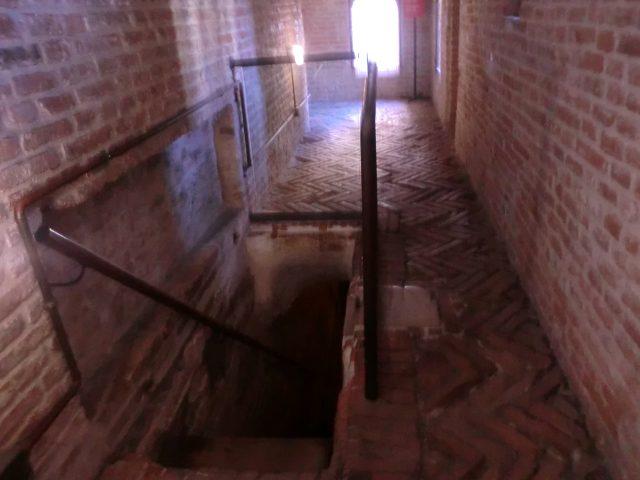 フェラーラのエステンセ城牢獄跡