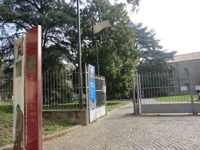 パドヴァ市立美術館入り口