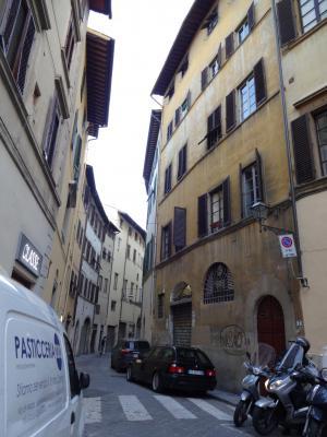 フィレンツェ サンタ・クローチェ教会周辺