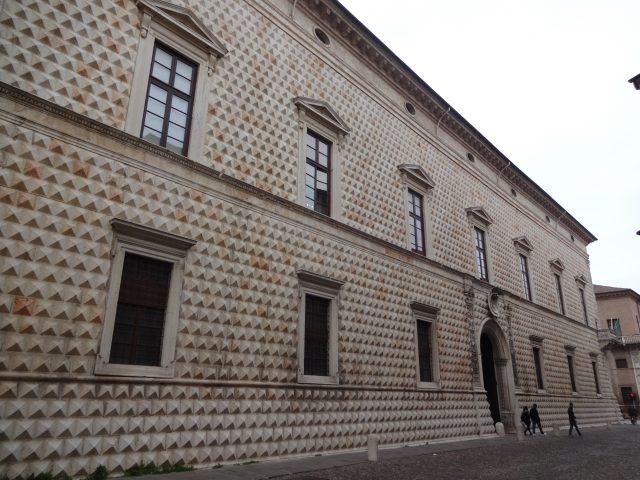フェラーラ ディアマンティ宮殿