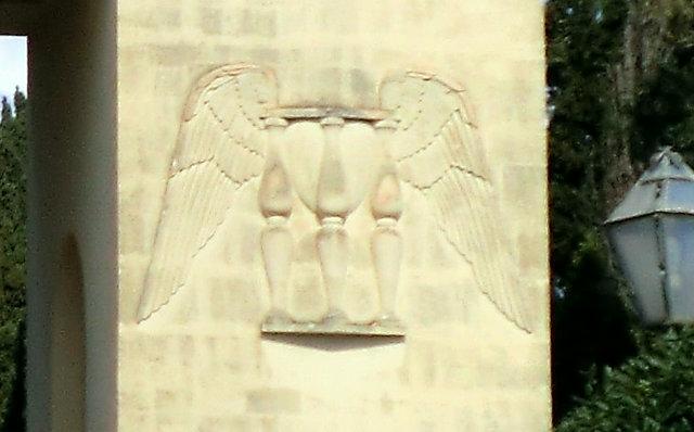 レッチェの墓地の門
