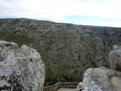マテーラのムルジャの高台