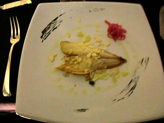 ペスカーラの魚料理